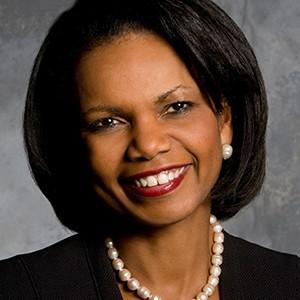 A photograph of Condoleezza Rice.