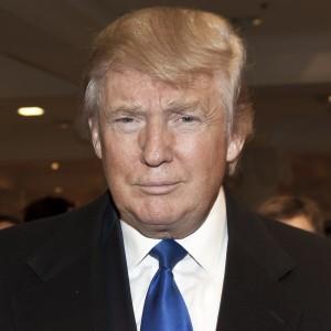 A photograph of Donald Trump.