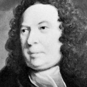 A photograph of Edward Young.