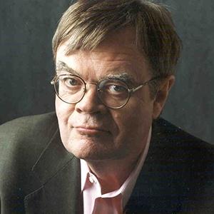 A photograph of Garrison Keillor.