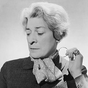 A photograph of Janet Flanner.