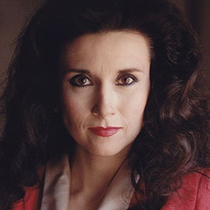 A photograph of Marilyn vos Savant.