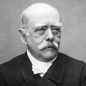 A photograph of Otto von Bismarck.