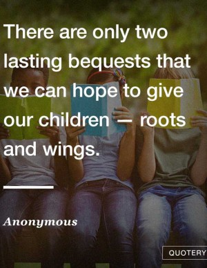 children-roots-wings