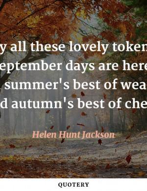 september-days-are-here